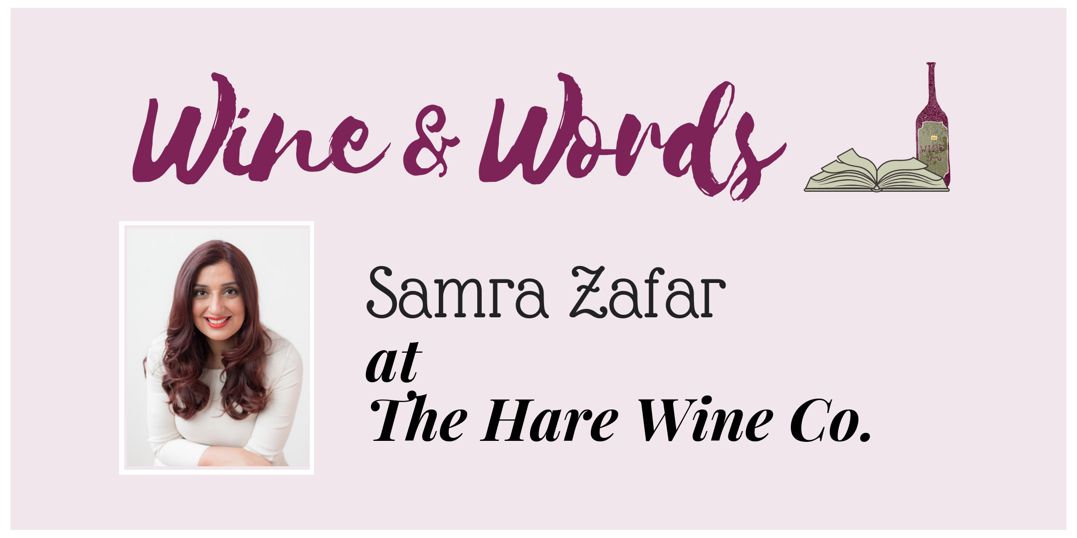 Samra Zafar at Hare Wine Co.