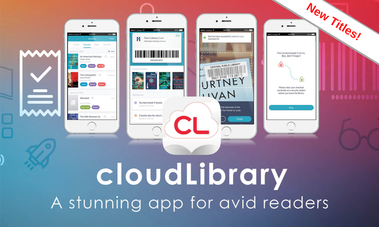 Free books with cloud library