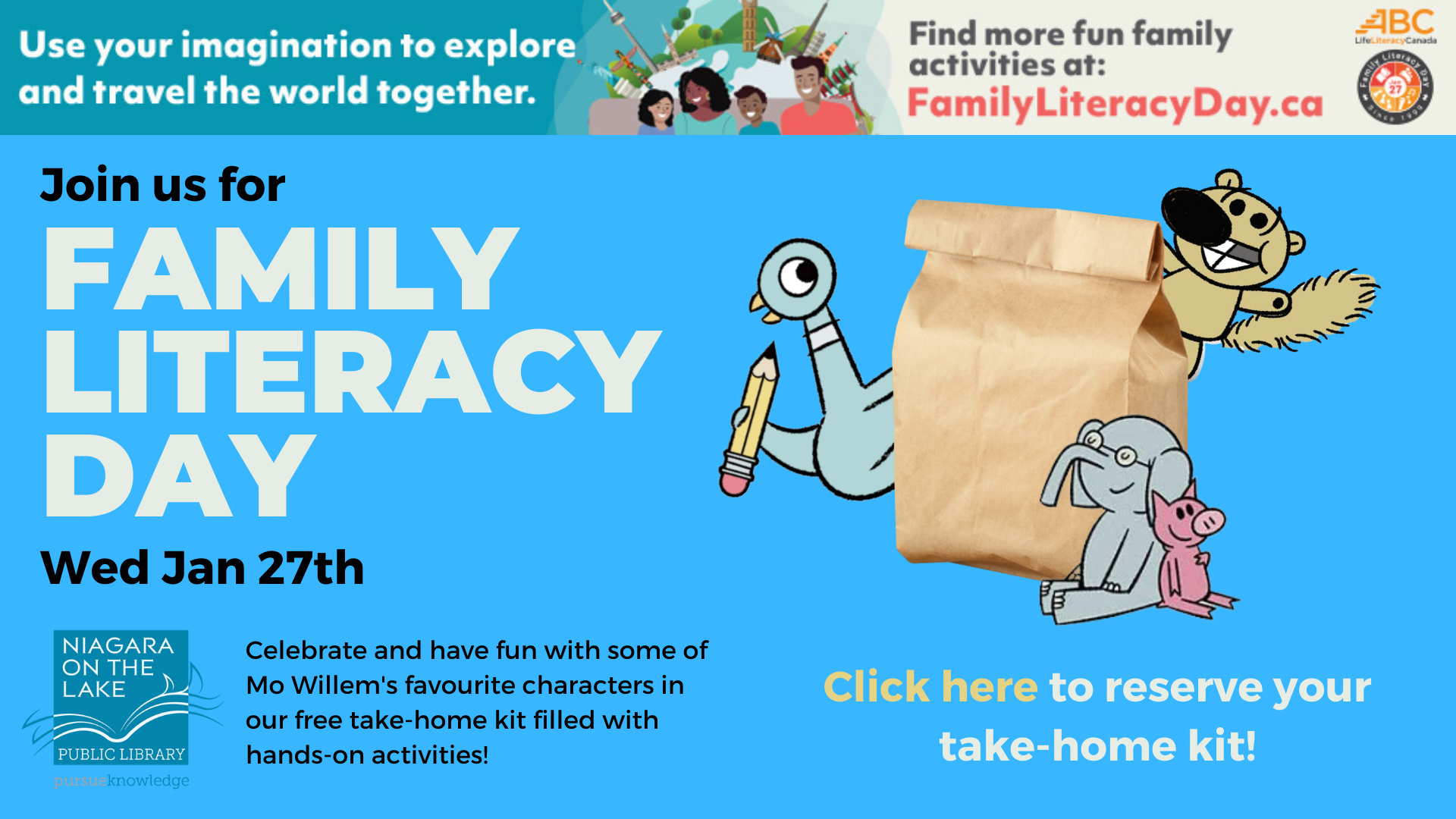 Family Literacy Day Banner